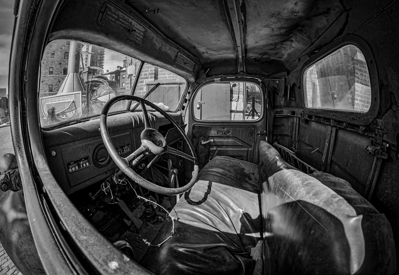 Old Dodge Interior