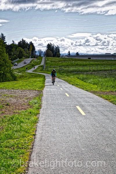 Biking the Flight Path