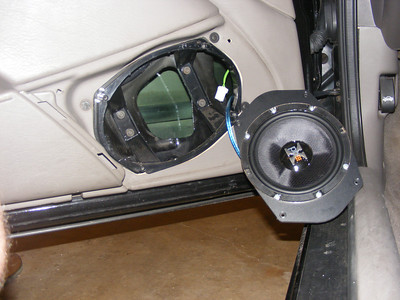 2003 Chrysler Sebring Convertible Front Speaker Installation