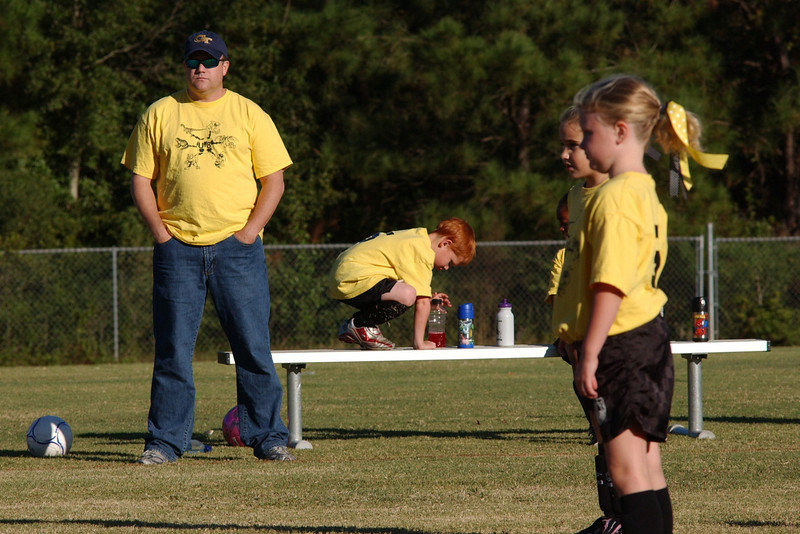 10 4 10 - U8 Soccer - Yellow Jackets vs. Dragons