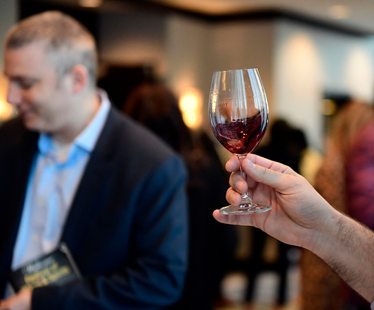 3/23/2019 Mike Orazzi | Staff Bristol Hospital Development Foundations annual Festival of Wine and Spirits held at the DoubleTree by Hilton Hotel in Bristol Saturday night.