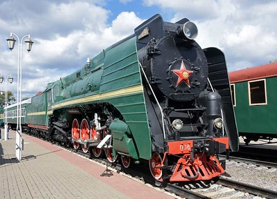 Moscow Railway Museum: Steam