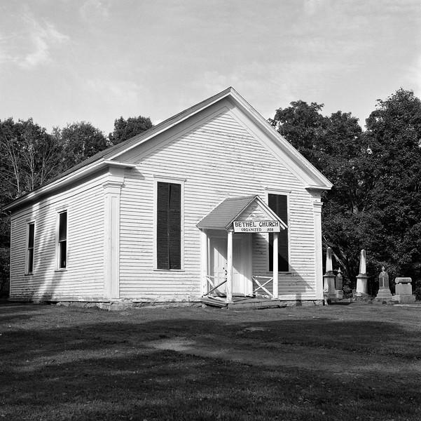 Bethel Church, near Deerfield, NY. September 2015