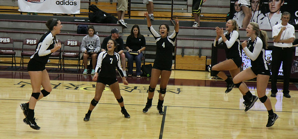BL Vrsty. Vball @ Pearland Game 7 (8/16/2014)