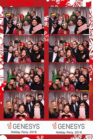 Genesys Holiday Party 2018