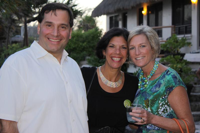 Rob, Jeanne, and Bobbi
