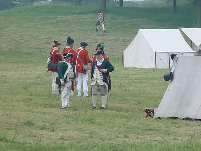 Crown Point  Rev War reenactment 6/02