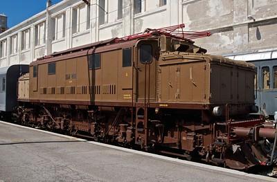 2012-08 Railroad Museum Trieste