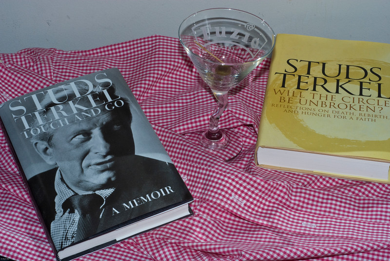 "Louis ""Studs"" Terkel (May 16, 1912 – October 31, 2008)"