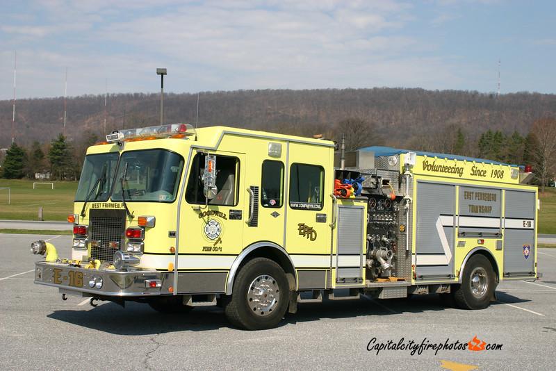 West Fairview Engine 16: 1997 Spartan/New Lexington 1750/1000 (X-Londonderry, PA)