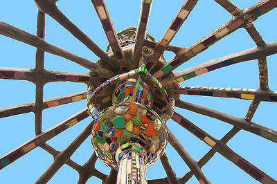 Watts Towers, photograph by NSL Photography