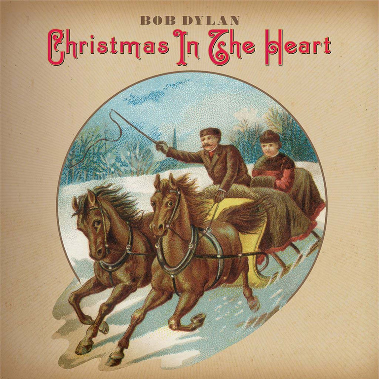 ". 2009: Bob Dylan\'s ""Christmas In The Heart\"" album  (PRNewsFoto/Columbia Records)"