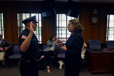 Mikes Swearing In Ceremony Lexington PD