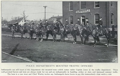 Mounted Traffic Officers - 1929