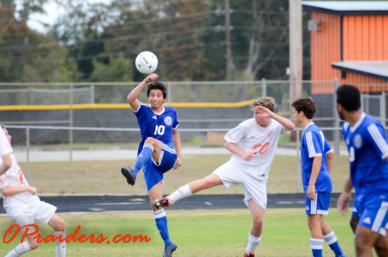 OP Soccer vs. Clay