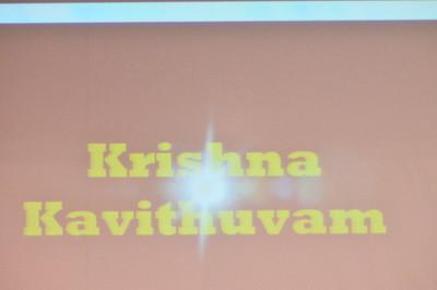 PERFORMANCE 10 - KRISHNA KAVITHUVAM