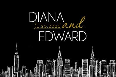 2020-01-25 Diana & Edward