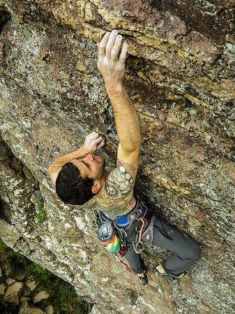 Climbing at Lyttleton Rock and Mt Horrible 31 Oct 2014 - 1 Nov 2014