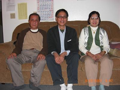 Daw Ohn Kyaing's sister family in Japan