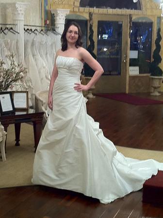 2010_11_12 Wedding Dress!