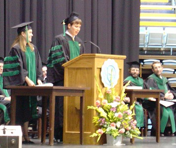 David's Graduation, May 9, 2004