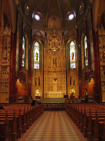 St. Patrick's Basilica (we went to Mass here)