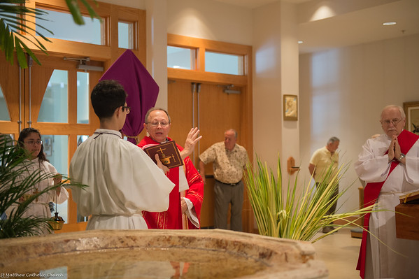 Palm Sunday Mass