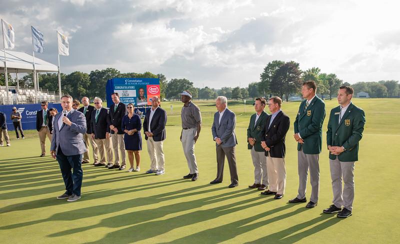 Exmoor GC, Champions Tour