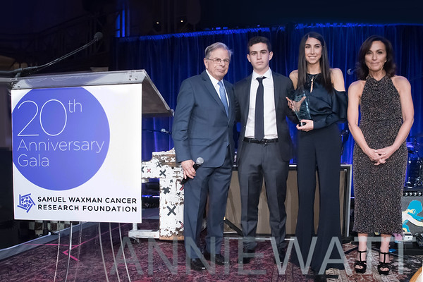 Nov 16, 2017 Samuel Waxman Cancer Research Foundation Collaborating For A Cure 20th Anniversary Benefit Dinner & Auction Gala