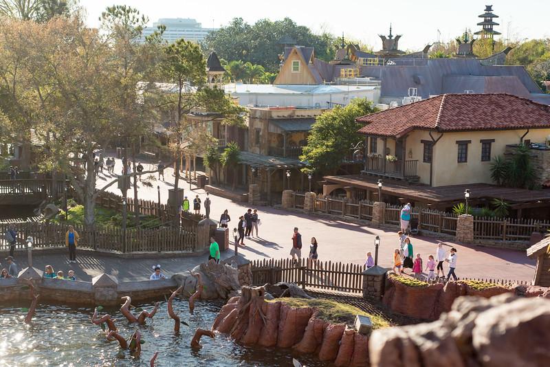 Frontierland Aerial View - Magic Kingdom Walt Disney World
