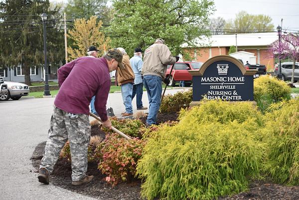 Masonic Shelbyville - Great Day of Service 2019