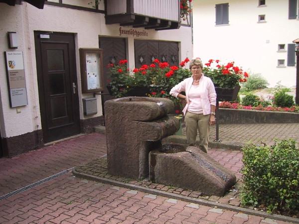 Brunnen Sandstein
