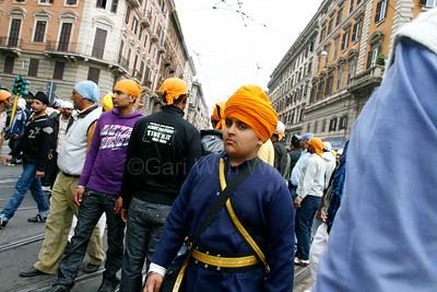 Vaisakhi Sikh festival in Rome Italy