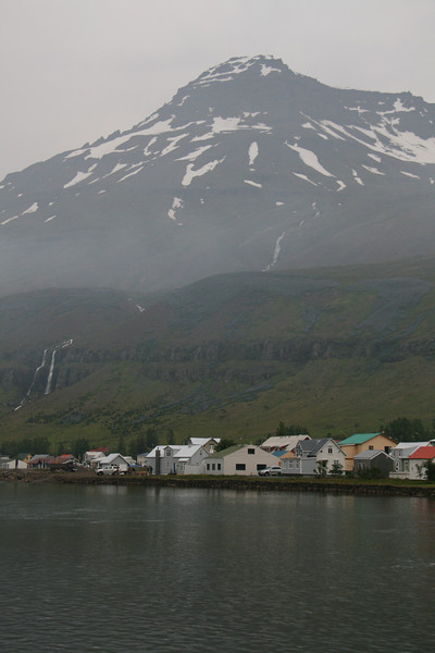East Fjord town.
