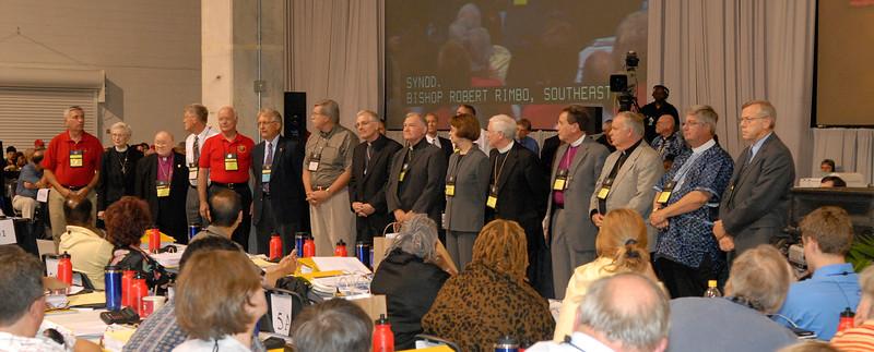 Retiring bishops of the ELCA.