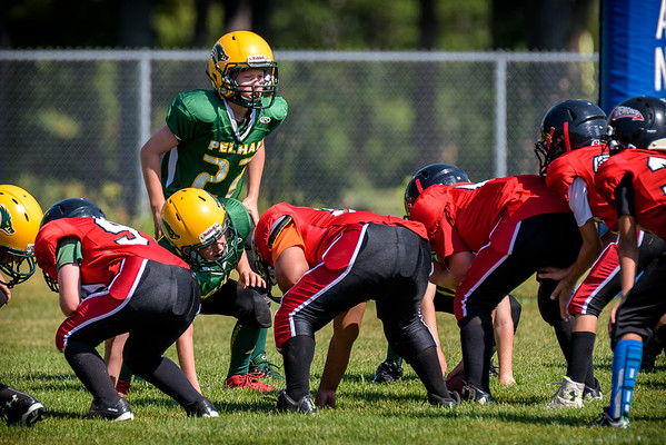 20150816 Razorbacks 5G - Scrimmage vs. Derry Demons