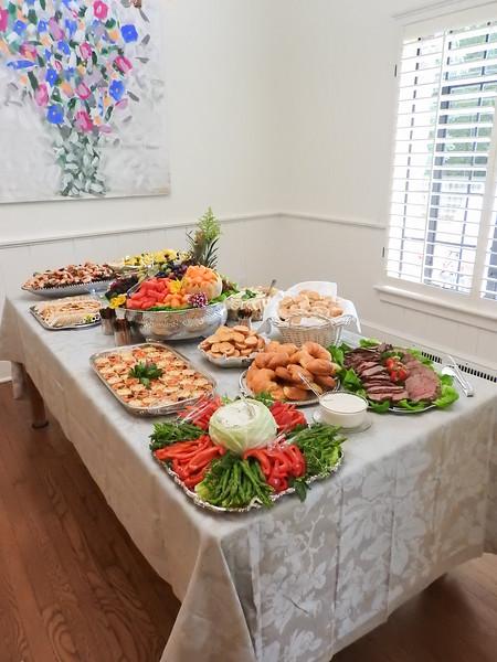 Fancy Cocktail Dinner Buffet - 2019