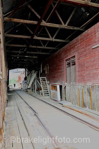 Railway loading area