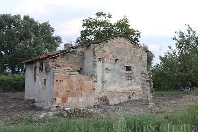 Ezio Palini, casa da ristrutturare, strada Gaglioli-Montefelco, Bavagna