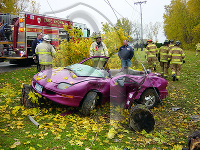 Motor Vehicle Accident - Greece, NY 11/1/05