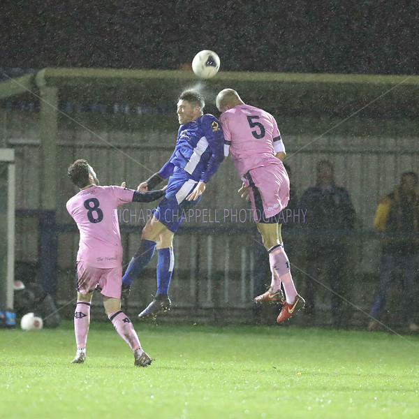 CHIPPENHAM TOWN V DULWICH HAMLET FA TROPHY REPLAY MATCH PICTURES 26th NOVEMBER 2019