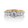 1.70ctw Edwardian 5-stone Old European Cut Diamond Band 0