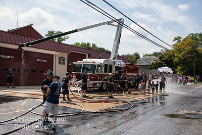 08/18/2018, Lindenwold Fire Dept. 125th Anniversary, Housing and Wet Down for new KME Squirt.