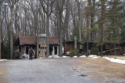 Fire Aftermath, West Penn Archery Club, New Ringgold, West Penn (1-24-2012)