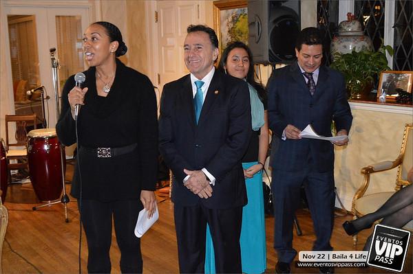 Baila 4 Life @ Residencia del Embajador de Panamá | Fri, Nov 22