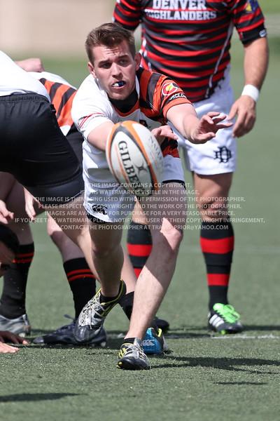 2017 April 22 Queen City Rugby vs Denver Highlanders