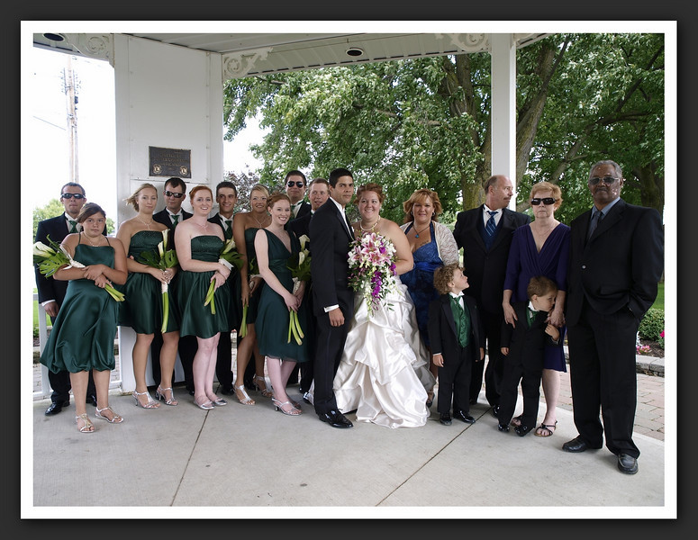 Bridal Party Family Shots at Stayner Gazebo 2009 08-29 024 .jpg