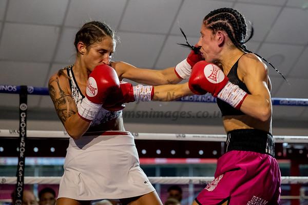 Danielle Jordon Hodges vs Theodora Hristov Flyweight Contest