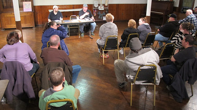 Volunteer Meeting for North and Middle Ward Playground, TCAC, Tamaqua (3-20-2014)