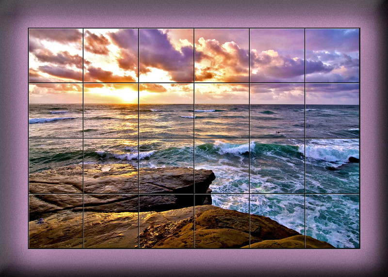 Marion's Sunset Cliffs 2 piece Mural.jpg